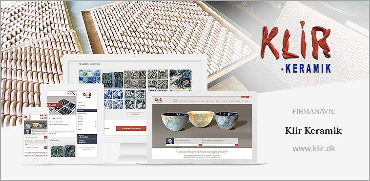 KLIR – Keramisk Kunst og Design